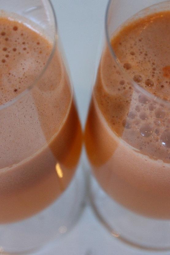 Juice med bl.a. stangselleri og brokkoli