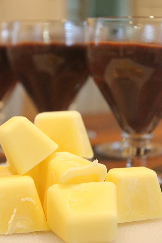 Sjokoladepudding med vaniljesaus