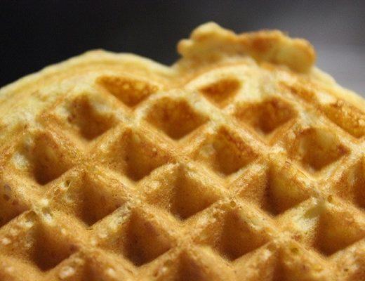 Luftige frokostvafler uten sukker