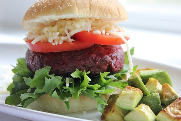 Red hot Beet Burger