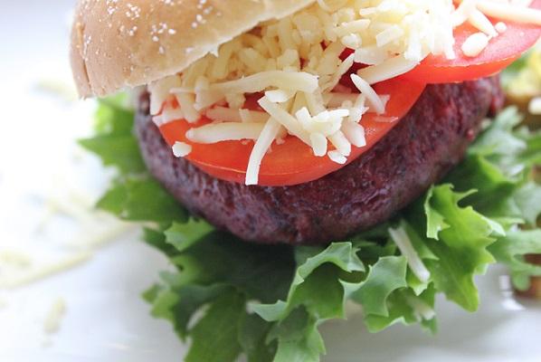 Red hot Beet Burger