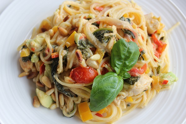 Fyldig pasta