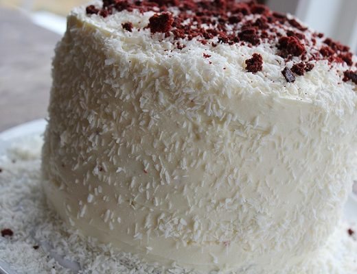 Red Velvet Chili Chocolate Cake
