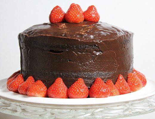Saftig sjokoladekake - en hoydare