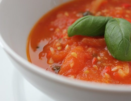 Hot Tomatsuppe