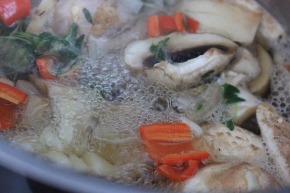 Kremet kyllingsuppe