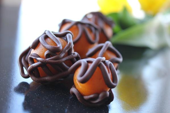 Appelsinkuler - appelsin cake pops