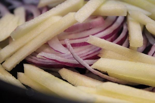 Nykålsalat med ingefær