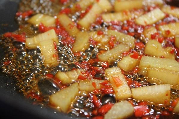 Rabarbra og chili