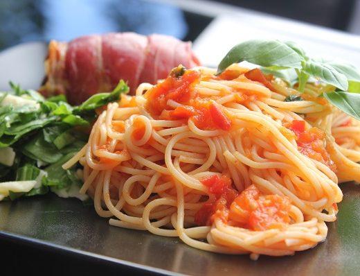 Hjemmelaget tomatsaus