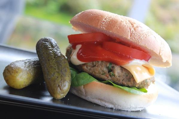 Saftig Hamburger1