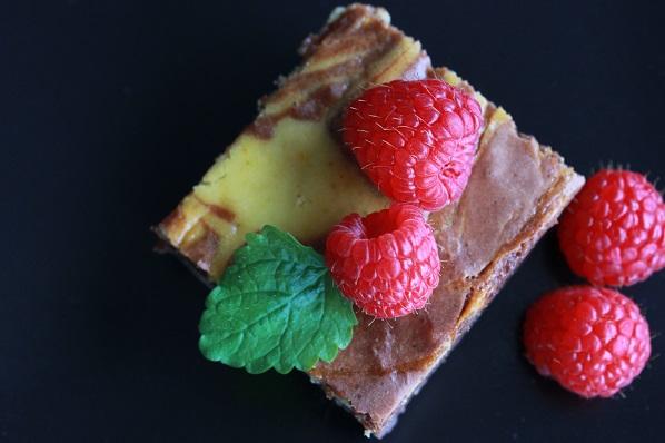 Brownie og ostekake1