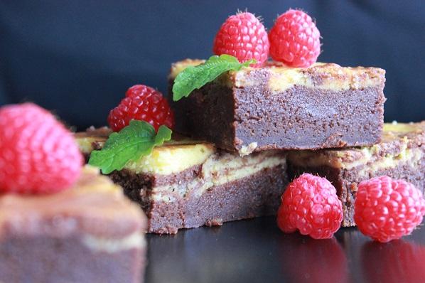 Brownie og ostekake3