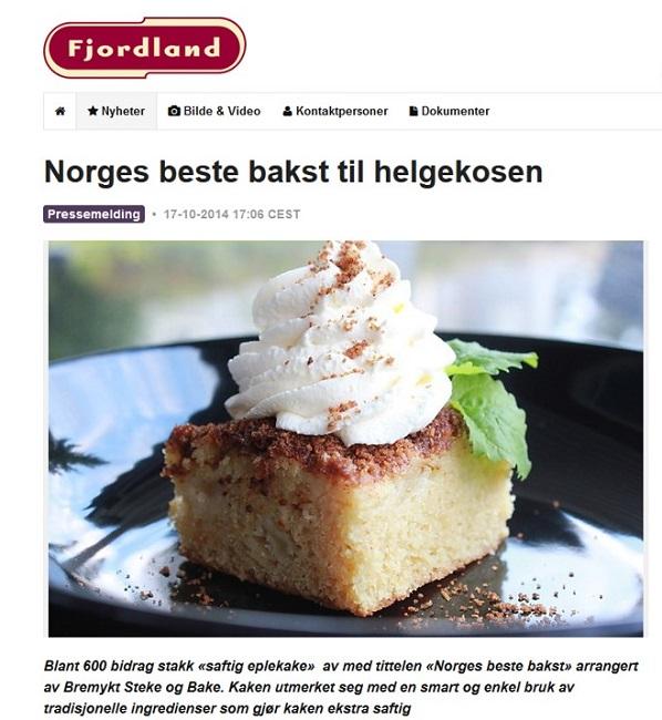 Norges beste bakst6