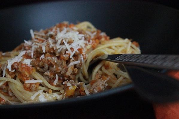 Spaghetti med kjottsaus2