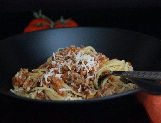 Spaghetti med kjøttsaus