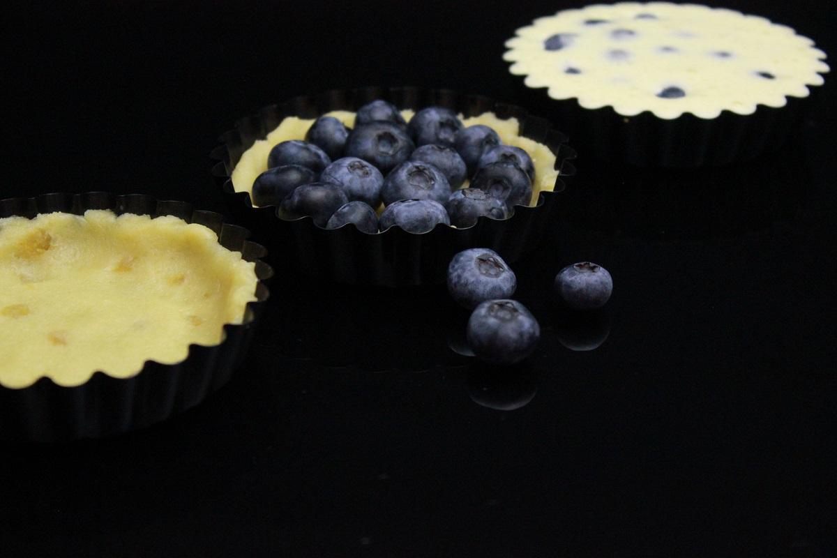 Blåbærterte