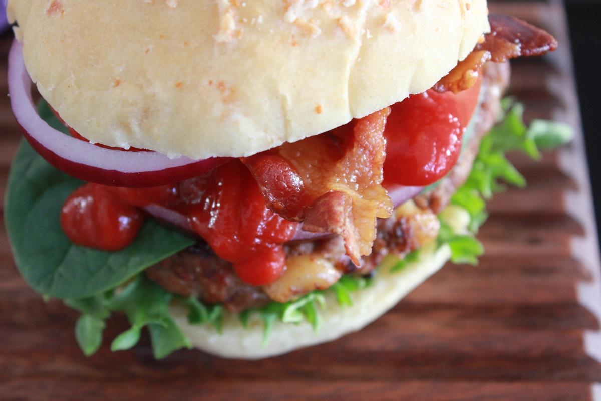Mac 'n Cheese Burger