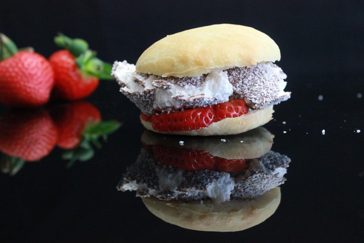 Puccia dessert - Schokokuss Brötchen