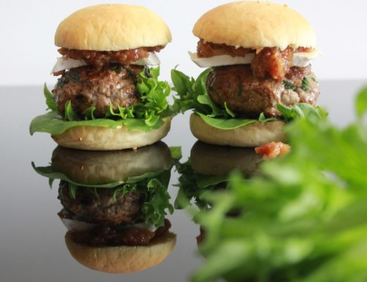 Hamburger med BaconSyltetøy