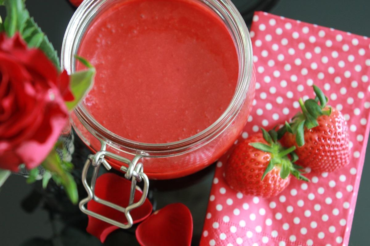 Jordbær Curd med lime
