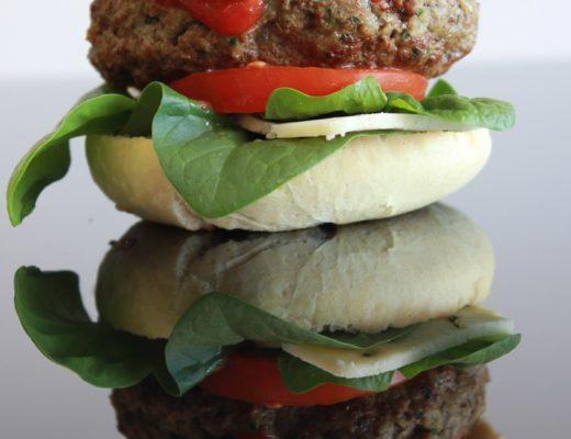 Green Jalapeno Burger