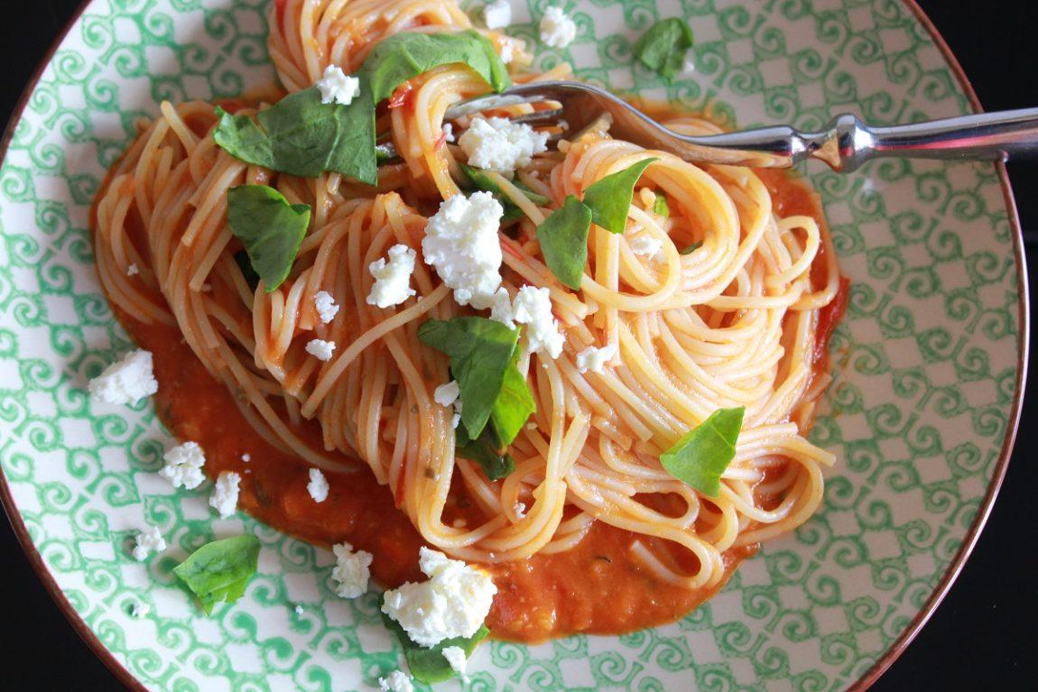 Hjemmelaget Tomatsaus - liten porsjon