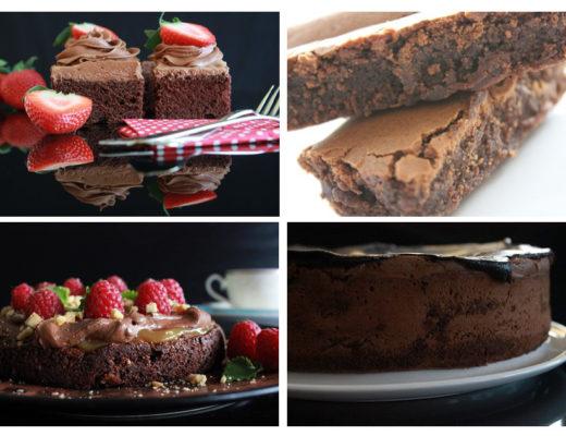 Verdens sjokoladekakedag - mine 4 favoritter