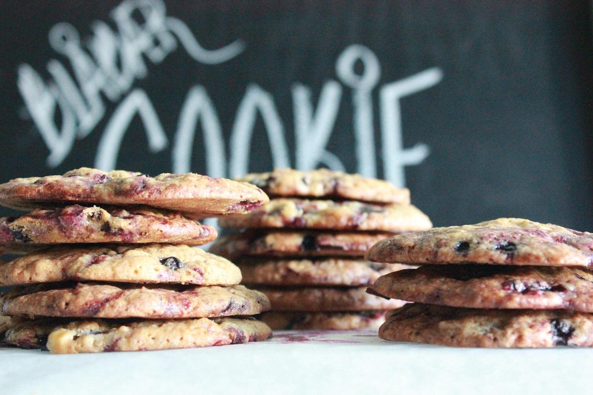 Blåbærcookie