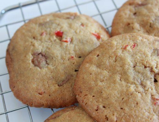 Chili- og sjokoladecookies