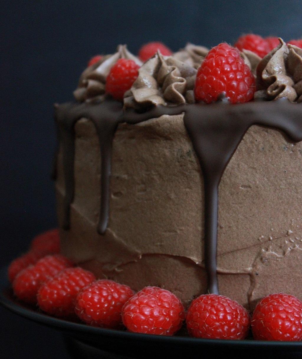 Festkake - sjokoladekake