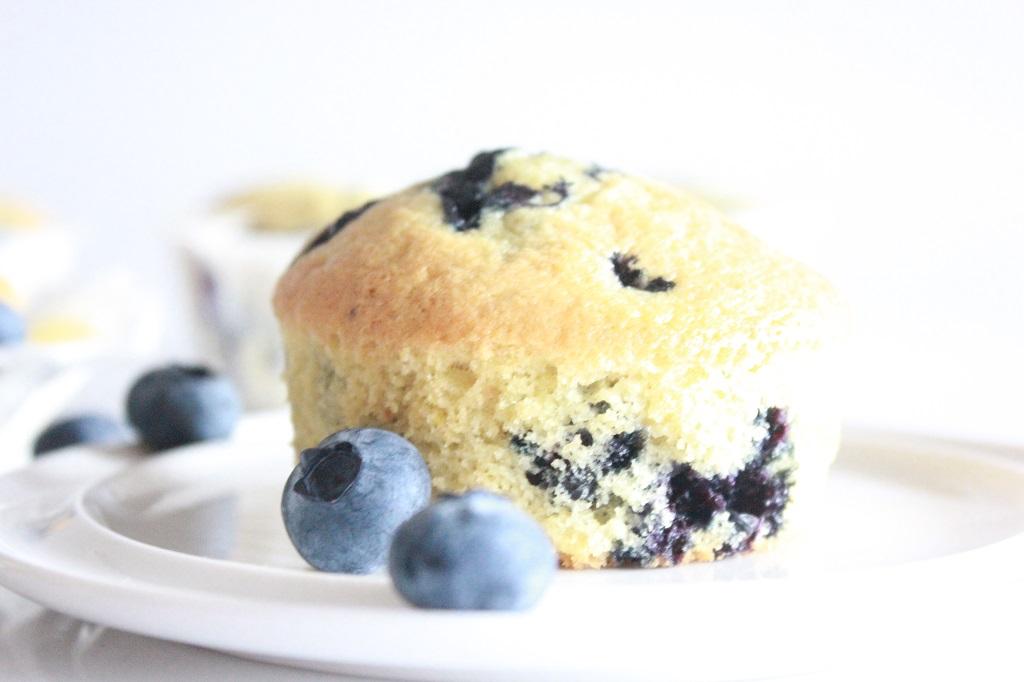 Blåbærmuffins - muffins med blåbær