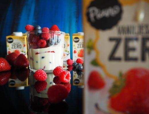 Piano Vaniljesaus Zero - dessertkonkurranse - kampanje