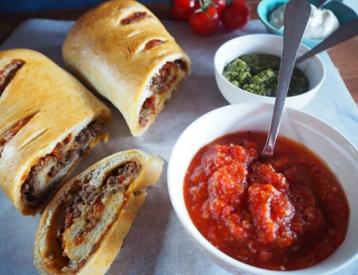 Stromboli - innbakt pizzarull