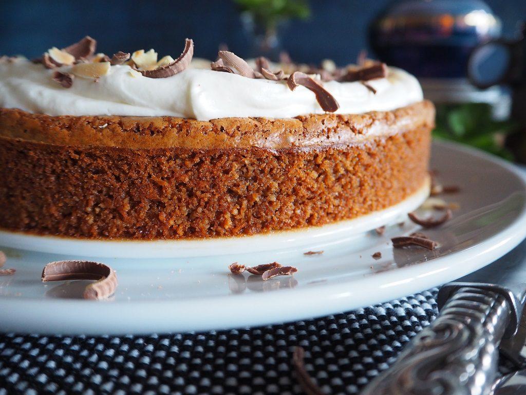 Toves sjokolade- og mandelkake - glutenfri brownie