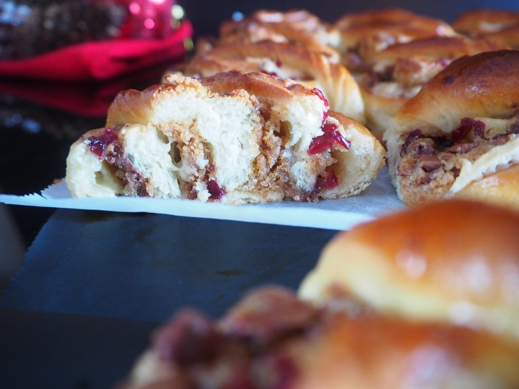 Julesnurr - cookiesnurr med julesmaker