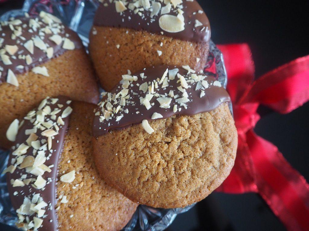 Sirupsnipp-cookie - ingefærcookie - ingefærkake