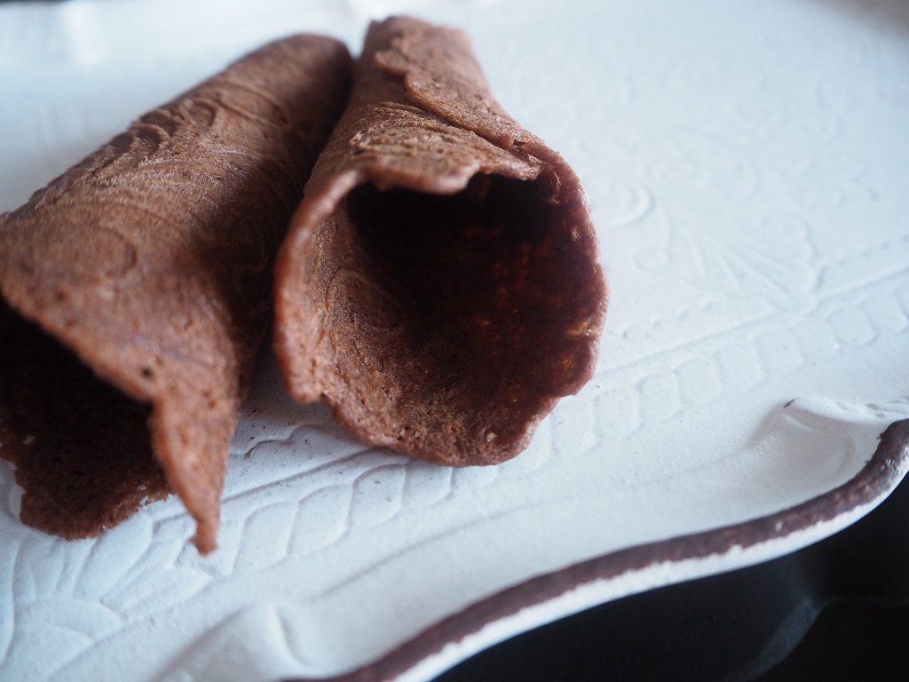 Sjokoladekrumkaker - krumkaker - sjokolade