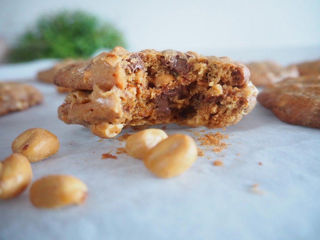 Peanøtt- og sjokoladecookie