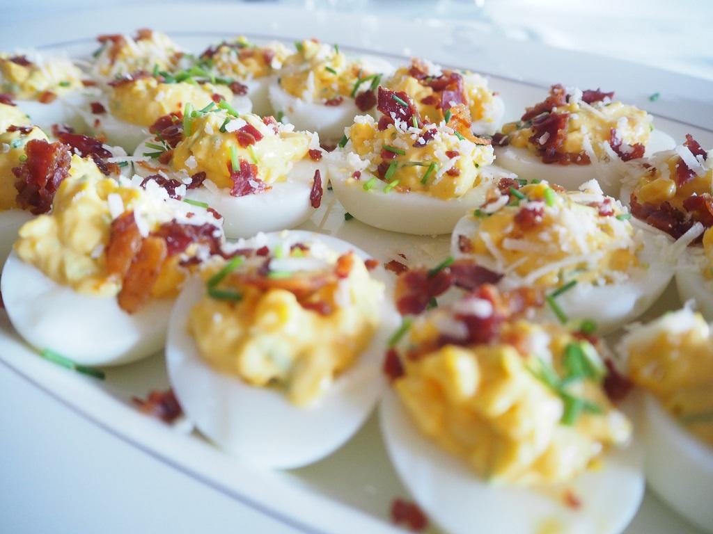 Fylte egg - devils eggs - devil eggs
