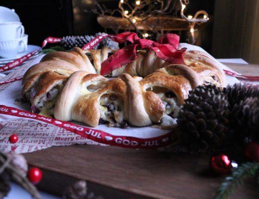 Julekrans - klippekrans med julesmaker