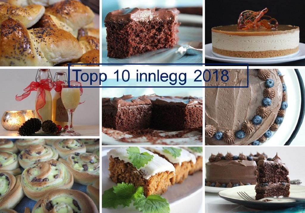 Topp 10 innlegg 2018