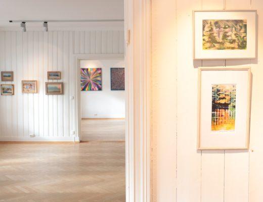 Kunstutstilling - 3 kunstnere i 3 rom