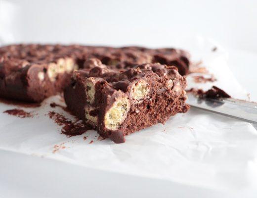 Brownie med sjokoladepops - Tove Holter - Idéfull - Toves matglede