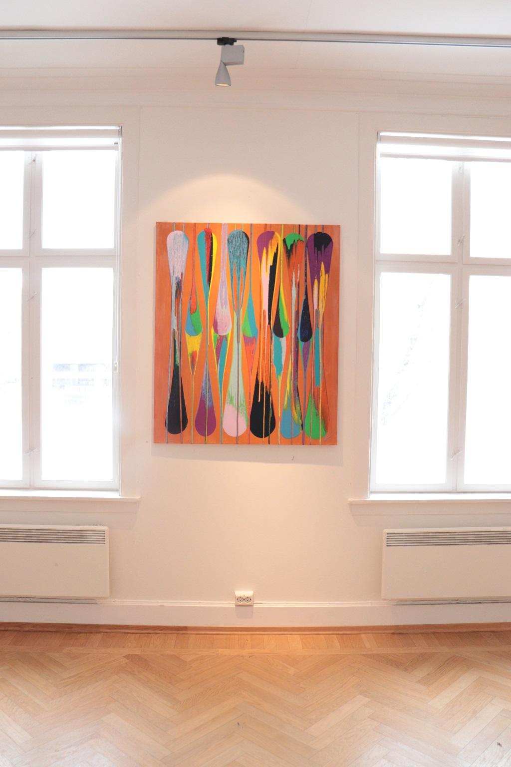Kunstutstilling - Tove Holter - Fjærlett