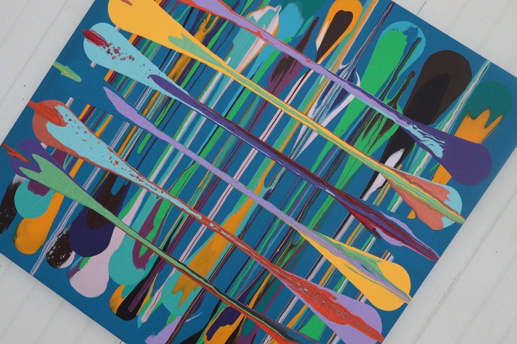 Kunstutstilling - Tove Holter -På kryss og tvers