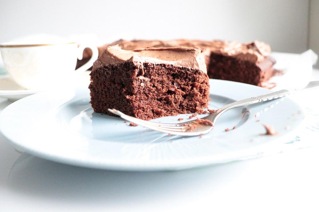 Sjokoladekake med hint av kaffe - i krem og kake - av Tove Holter Idéfull