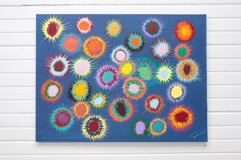 Kunstutstilling - Tove Holter - Stjernekikkert