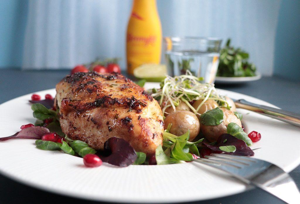 Saftig kylling - Bremykt Flytende - Tove Holter