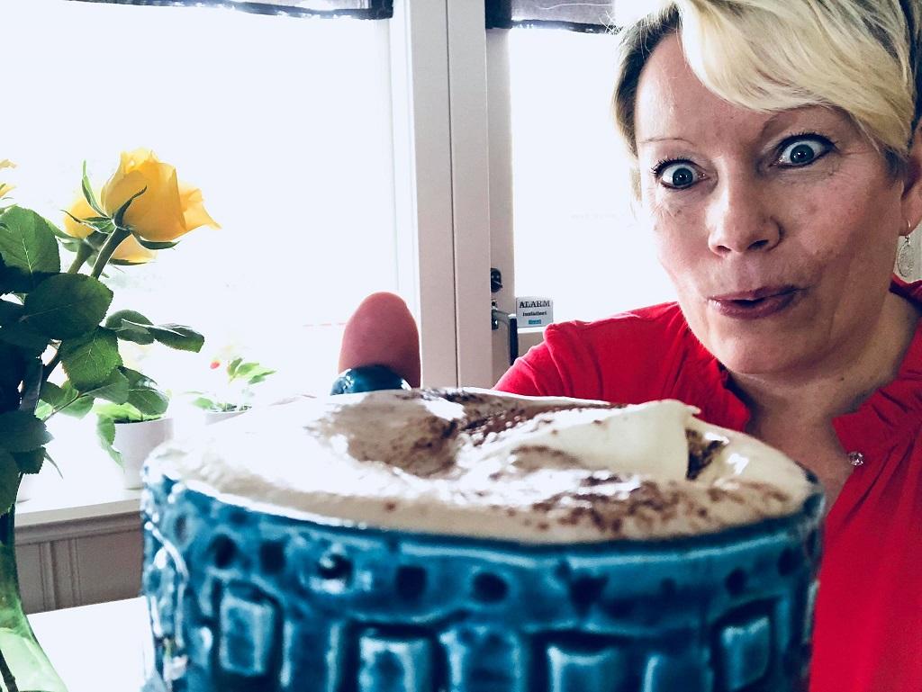 Sjokoladekaffe - kaffe og sjokolade - Tove Holter - Idéfull Toves Matglede